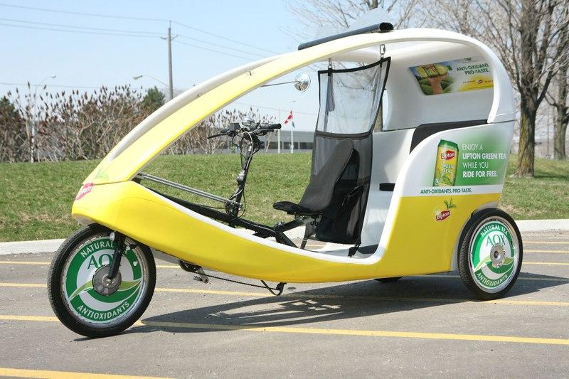 ECOCAB - Pedal-Powered Taxi