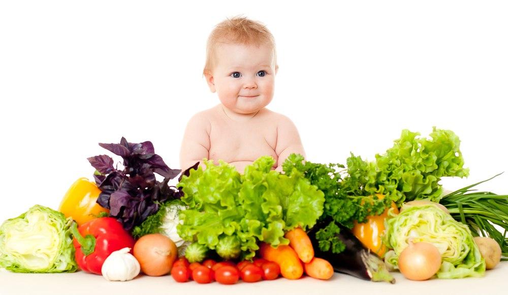 веганское питание для детей